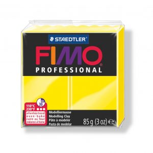 Глина Fimo Professional 1 lemon yellow
