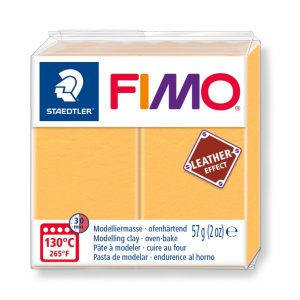 глина Fimo Leather 8010 - 109 safran yellow