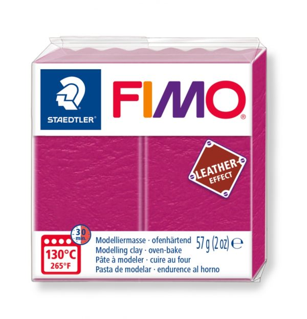 Fimo Leather 8010 - 229 berry