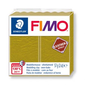 Fimo Leather 8010 - 519 olive