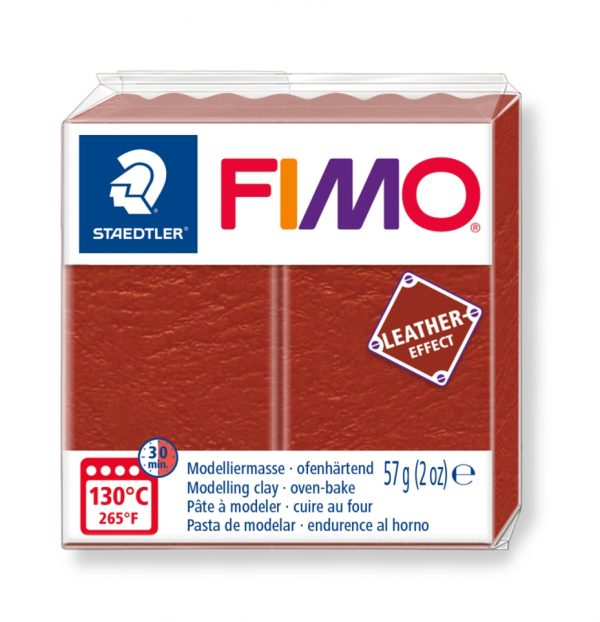 Глина Fimo Leather 8010 - 749 rust