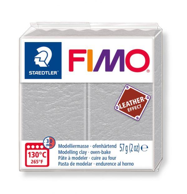 Fimo Leather - 809 dove grey