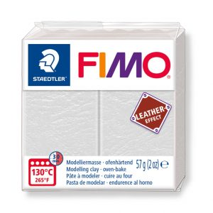Fimo Leather 8010 - 029 ivory