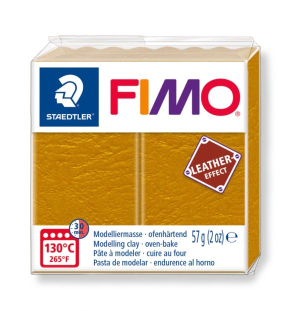 глина Fimo Leather 8010 - 179 ocre