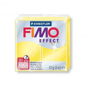 Полимерна глина Fimo Effect 8020 - 104 yellow