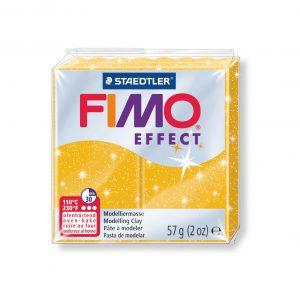 Полимерна глина Fimo Effect 8020 - 112 Glitter Gold