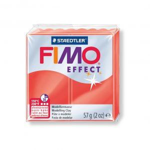 Полимерна глина Fimo Effect 8020 - 204 Translucent red