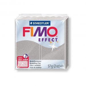 Полимерна глина Fimo Effect 8020 - 81 Metallic Silver