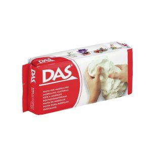 Самосъхнеща глина 500гр DAS - Бяла