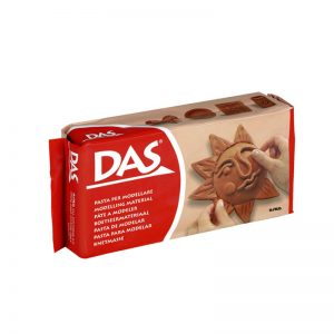 Самосъхнеща глина 500гр DAS - Кафява