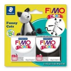 Fimo kids kit funny cats 8035-10