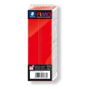 Глина Fimo Professional 8041-200 Pure Red