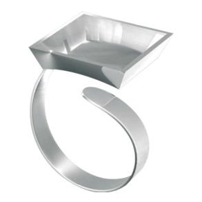 Форми за пръстен Fimo - правоъгълен 8625-03
