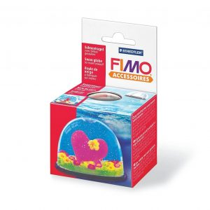 Fimo snow globe - Снежен глобус 8629-40