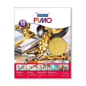 Метално фолио за декорация 8781-11 злато