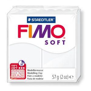 Глина Fimo Soft 8020 - 0 white