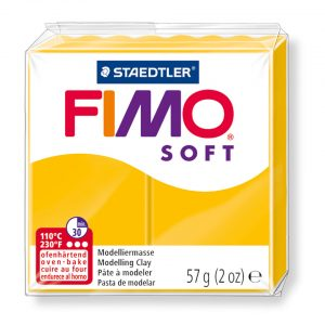 Глина Fimo Soft 8020 - 16 sunflower