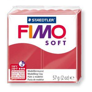 Глина Fimo Soft 26 cherry red