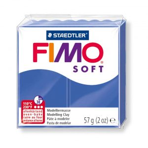 Глина Fimo Soft 33 brilliant blue