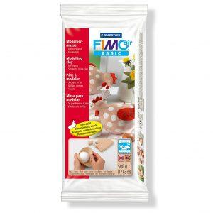 Самосъхнеща глина 500гр Fimo Air Flesh
