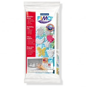 Самосъхнеща глина 500гр Fimo Light White