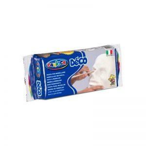 Самосъхнеща глина 500гр Carioca DECO - Бяла