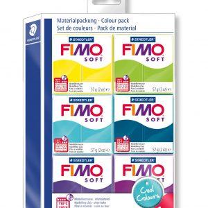 Комплект Cool Fimo Soft 6 цвята