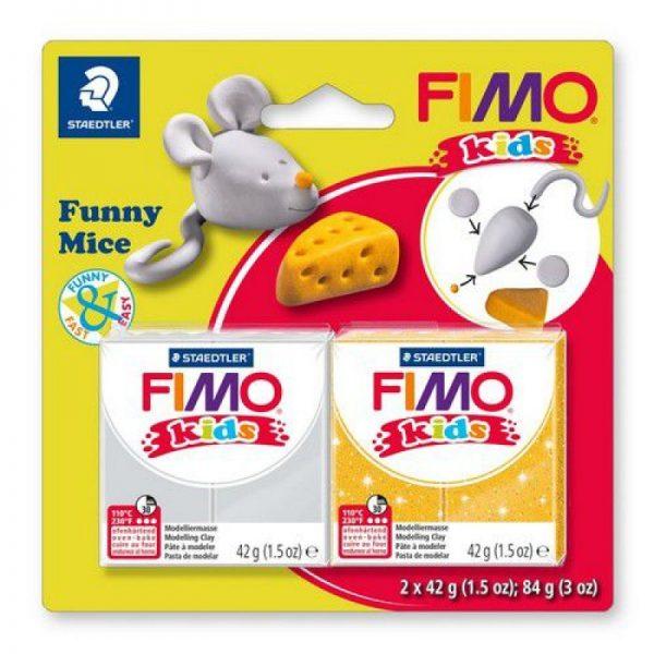 Fimo kids kit funny mice 8035-11