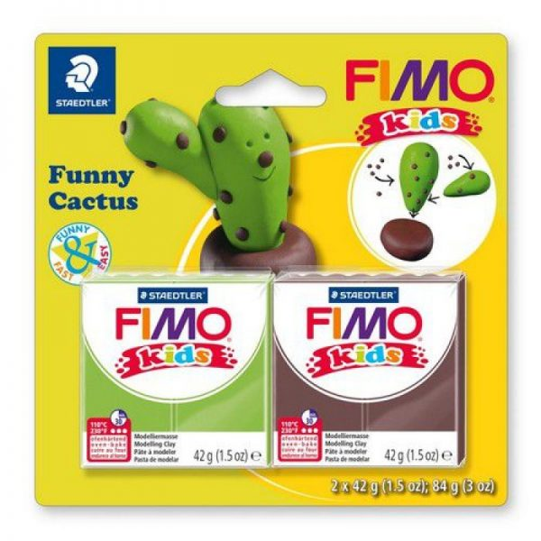 Fimo kids kit funny cactus 8035-13