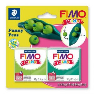 Fimo kids kit funny peas 8035-15