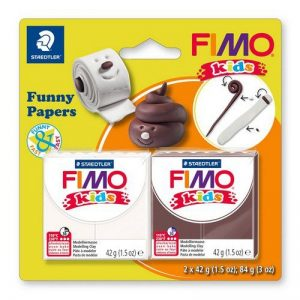 Fimo kids kit funny paper 8035-17
