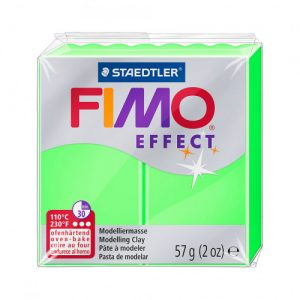 Fimo Effect 8010 501 Neon Green