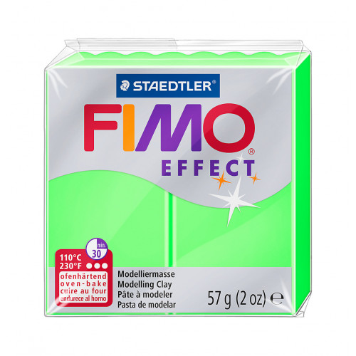 Fimo Effect 8010 501 Neon Green