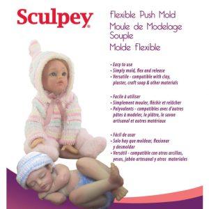 Молд за глина бебета Sculpey