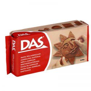 Самосъхнеща глина 1кг DAS - Кафява