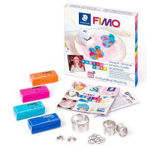 Комплект Earring kit 2 с полимерна глина